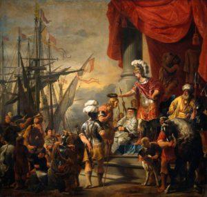 Énée à la cour de Latinus (F. Bol)