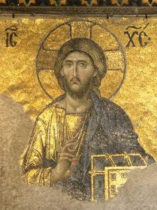 Pantocrator Agia Sophia