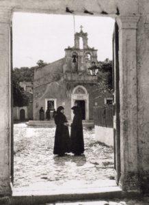 Entrée du Monastère en 1927