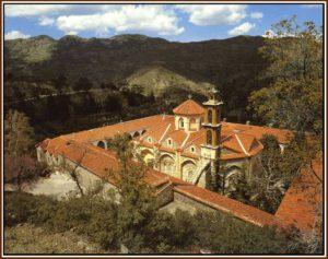 Le Monastère de Makhaira, restauré.