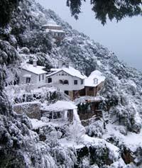 Kavsokaliva sous la neige